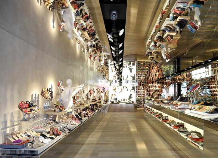 A Kurt Geiger store at Covent Garden.