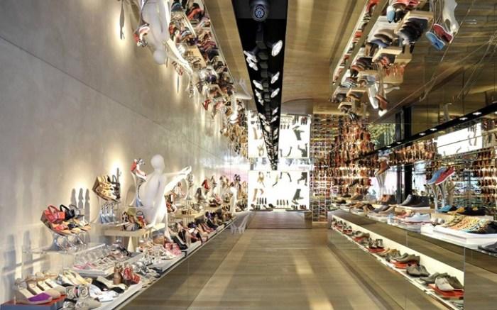 A Kurt Geiger store at Covent Garden