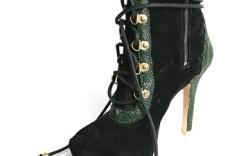 Fishbeins high-heeled bootie