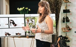 Fleming presents her collection at the final challenge