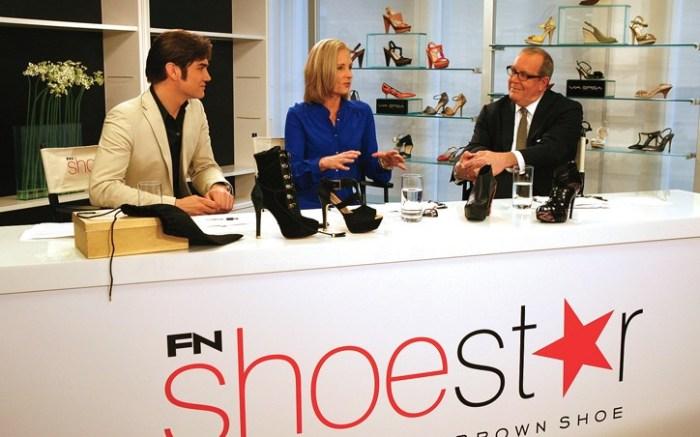 FN Shoe Star Judges Joe Moore Diane Sullivan and Michael Atmore