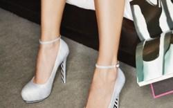 ALEJANDRA G&#8217s ankle-strap pumps in brushed kidskin