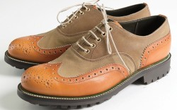 Grenson teamed with 117-year-old heritage label Barbour on limited-edition footwear for fall &#821711