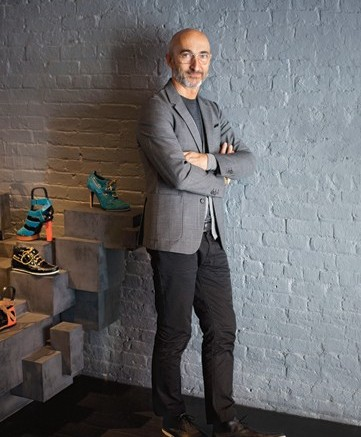 Luxe designer Pierre Hardy talks about juggling design duties and creating the perfect retail environment
