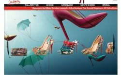 Christian Louboutins website