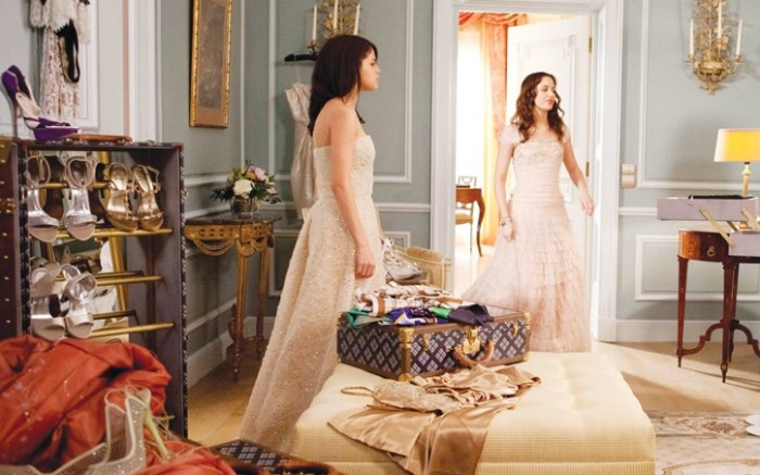 Selena Gomez and Leighton Meester in scene from Monte Carlo