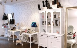 Inside recently opened New York shoe boutique Ruia