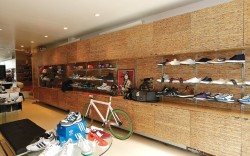In a neighborhood full of competing shoe stores Rime puts a premium on mixing the hottest sneakers with other must-have styles