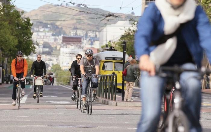 National Bike to Work Day in San Francisco