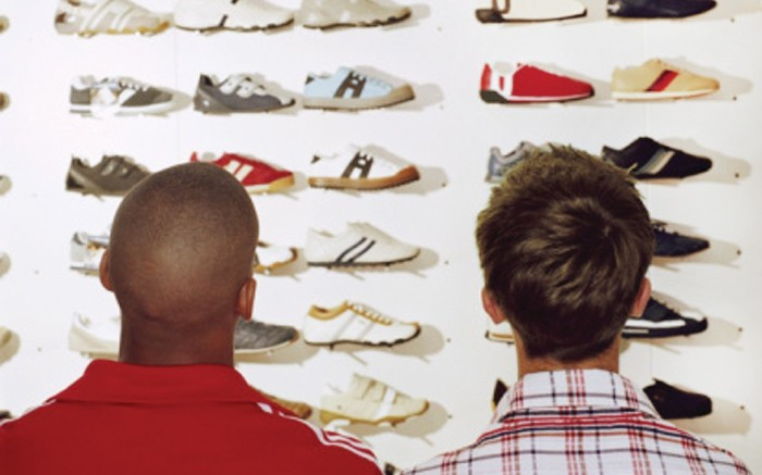 Footwear Inventory selection