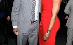 Prince Amukamara and Serena Williams