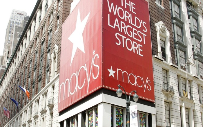 Macy's store in Herald Square