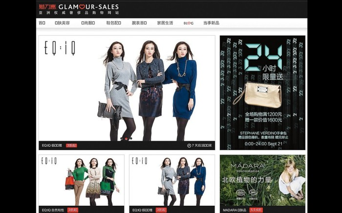 Glamour Sales offers US brands an entry into China