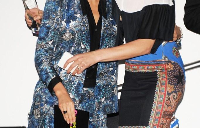 Tabitha Simmons and Miranda Kerr