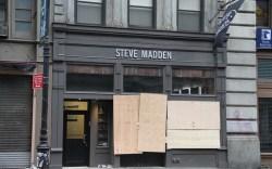 Hurricane Sandy New York retail Steve Madden
