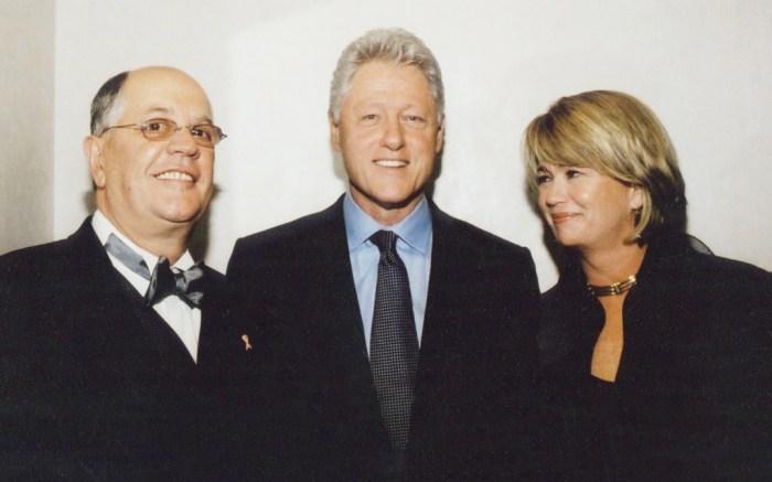 Joe Moore Georgia Moore Bill Clinton