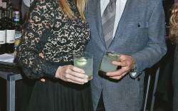Footwear News Achievement Awards Andrea Hissom Steve Wynn