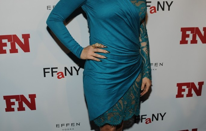Fergie at the 2012 Footwear News Achievement Awards