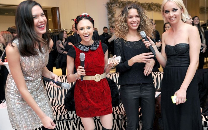 Odette Annabele Stacey Bendet Cleo Wade and Caitlin Moe