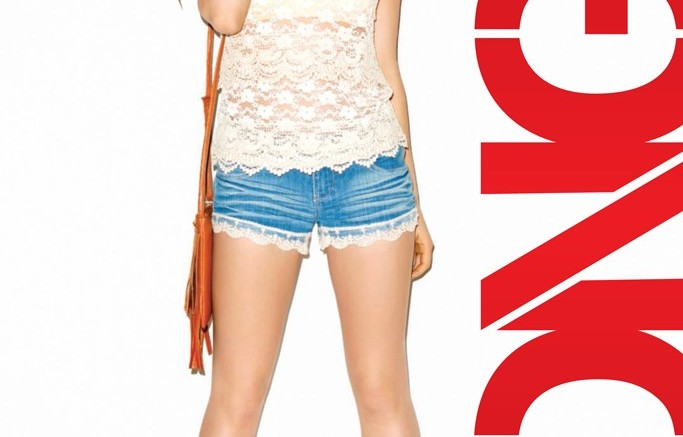 Lucy Hale for Bongos spring campaign