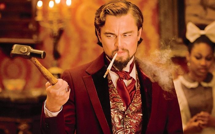 Leonardo DiCaprio Quentin Tarantino Django Unchained