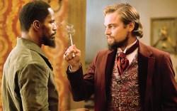 Jamie Foxx Leonardo DiCaprio Quentin Tarantino Django Unchained