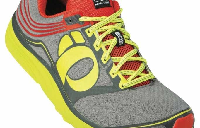 A running shoe from Pearl Izumis Project EMotion collection