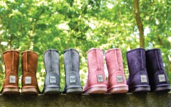 Wool-lined boots by Booroo Shoes