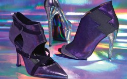 Jean-Michel Cazabats cut-out bootie Nine Wests platform pump Blonde Ambitions peep-toe bootie