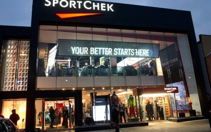 Sport Chek&#8217s new retail lab concept store in Toronto