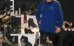 Charline DeLuca at SUPER tradeshow