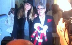 Giuseppe Zanotti with Melissa Satta