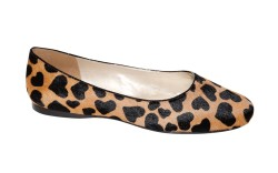 French Sole New Yorks skimmer in calf hair