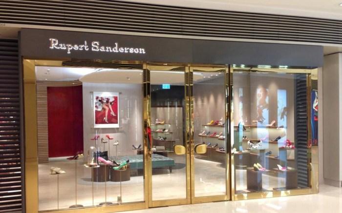 Rupert Sandersons newest Hong Kong boutique