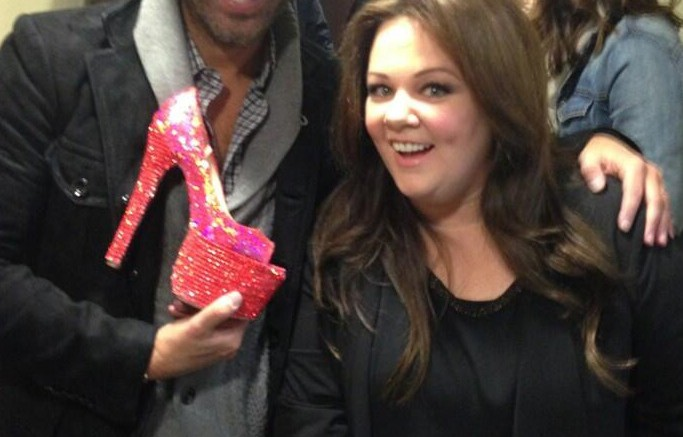 Brian Atwood and Melissa McCarthy
