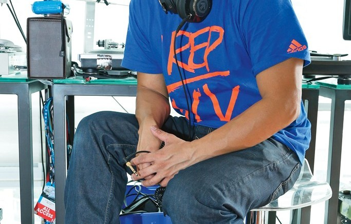 DJ Neil Armstrong