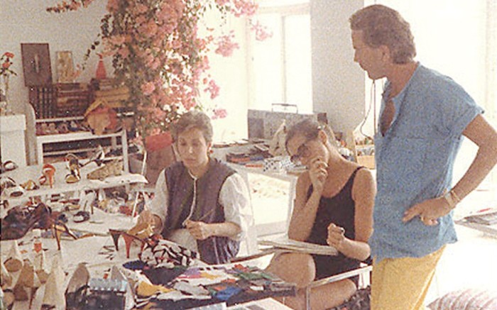 1969  &#8212 Phyllis Footer joins the firm on a part-time basis and is eventually made a VP of product where she works with such designers as Donna Karan and Andrea Pfister at right