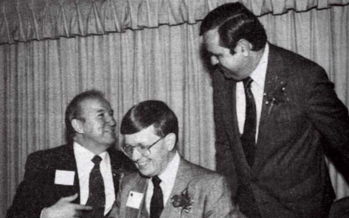 Bob Campbell Harold Rowen Floyd Huff