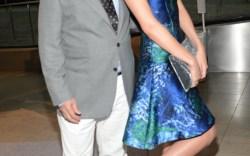 Stuart Weitzman and Miranda Kerr