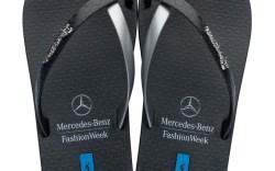 Ipanemas special-edition flip-flop for Mercedes-Benz Fashion Swim Week in Miami