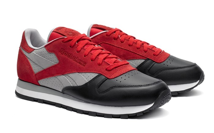 The Reebok Classic Leather colorway designed by Stash