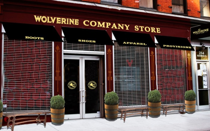 Rendering of the soon-to-open Wolverine Company Store