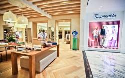 Fa&#231onnables shop-in-shop inside Shanghais Takashimaya department store