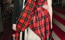 Alexander McQueen and Sarah Jessica Parker