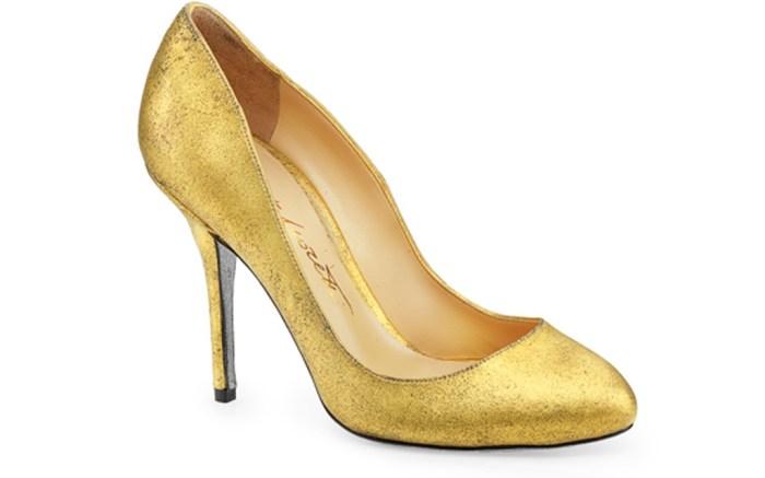 Moretti gold stiletto