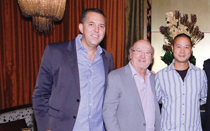 Fred Mossler Bob Campbell Tony Hsieh