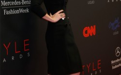 Jessica Pare in Christian Louboutin