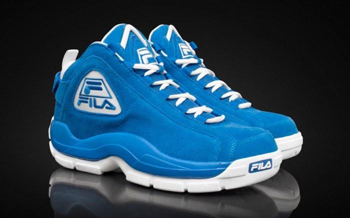 A fall 13 Fila retro basketball shoe