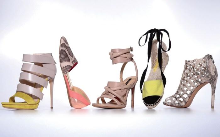 CASADEI&#8217s lavender and citrus strappy heel