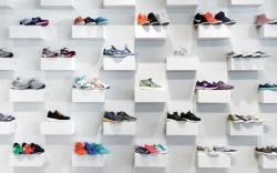 The Tannerys athletic shoe wall